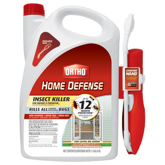 ORTHO HOME DEFENSE INSECT KILLER FOR INDOOR & PERIMETER RTU WAND (BONUS SIZE) 1.1 GAL