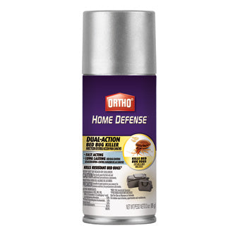 ORTHO HOME DEFENSE MAX DUAL-ACTION BED BUG KILLER AEROSOL TRAVEL SIZE 3 OZ