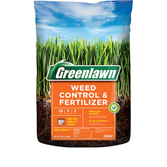 GREENLAWN WEED CONTROL & FERTILIZER 28-0-3