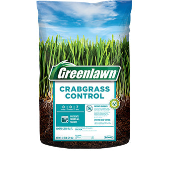 GREENLAWN CRABGRASS CONTROL 0-0-7 6