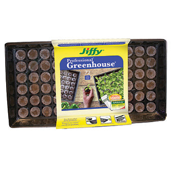 Jiffy Greenhouse with Super Thrive 72 pods