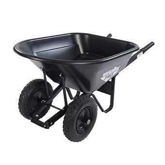 MASTER GARDNER POLY WHEELBARROW 10 CF