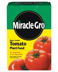 MIRACLE GRO WATER SOLUBLE TOMATO PLANT FOOD 1.5 LB