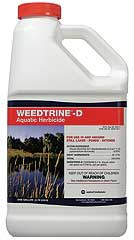 WEEDTRINE-D AQUATIC 4X1 GAL