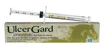 ULCERGARD (OMEPRAZOLE) ORAL PASTE FOR HORSES