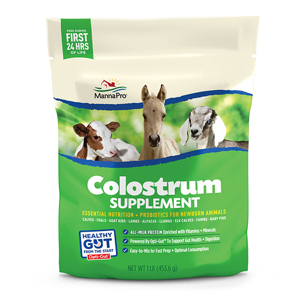 MANNA PRO COLOSTRUM SUPPLEMENT 16 OZ