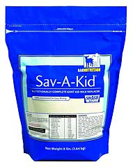 SAV-A-KID MILK REPLACER FOR GOAT KIDS 8 LB