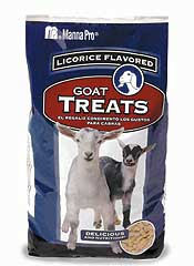 GOAT TREATS LICORICE FLAVORED 6 LB