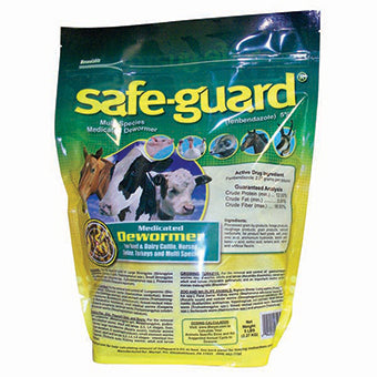 SAFE-GUARD MULTI-SPECIES MED DEWORMER 5 LB