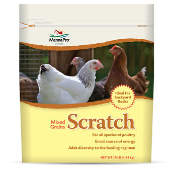 SCRATCH MIXED GRAINS 10 LB