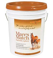 LAND O LAKES MARES MATCH FOAL MILK REPLACER 20 LB