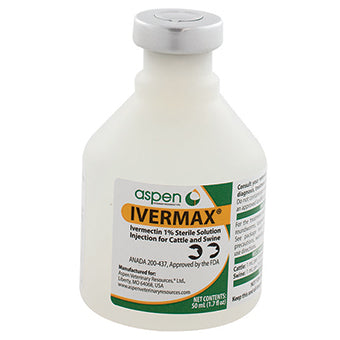 IVERMAX INJECTABLE 1% 50 ML