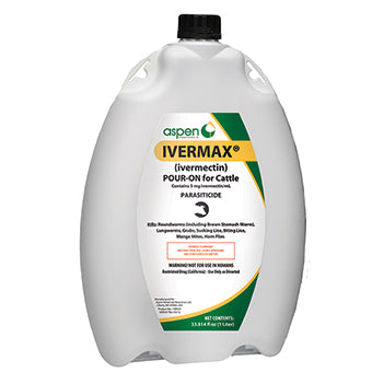 IVERMAX POUR-ON FOR CATTLE 1 L
