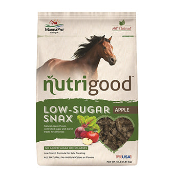 NUTRIGOOD LOW-SUGAR SNAX APPLE 4 LB