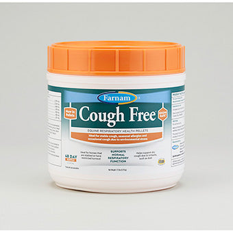 COUGH FREE EQUINE RESPIRATORY HEALTH PELLETS 48 DAY SUPPLY 1.75 LB