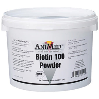 ANIMED BIOTIN 100 POWDER 5 LB