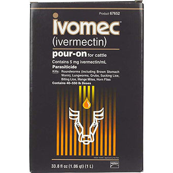 IVOMEC POUR-ON FOR CATTLE 1L