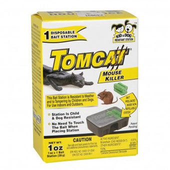 Tomcat Disposable Bait Station with Bait 1 oz