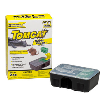 Tomcat Disposable Bait Station with Bait 2 oz