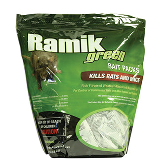 Ramik Green Mini Bait Packs