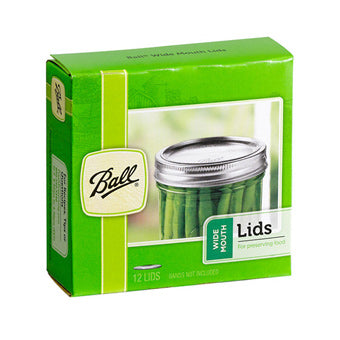 Ball Lids Wide Mouth Pack of 12