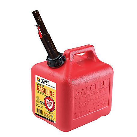 Midwest Can Gasoline Can 2gal