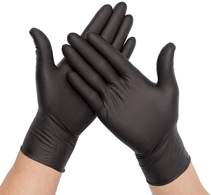 LATEX POWDER FREE GLOVES SIZE LARGE