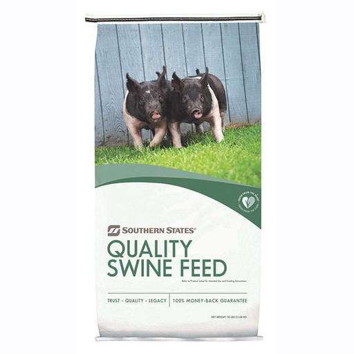 SOUTHERN STATES ALL GRAIN GROW-N-FINISH PIG FEED 50 LB