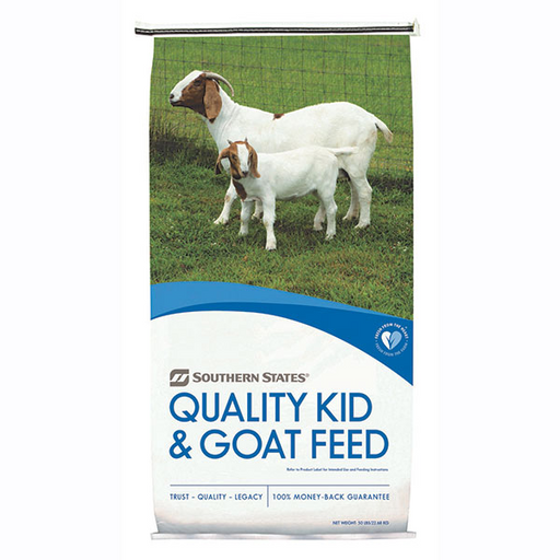 SOUTHERN STATES 17% GOAT FEED MED 50 LB