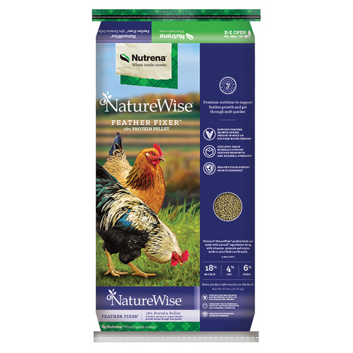 NUTRENA NATURE WISE FEATHER FIXER 40 LB