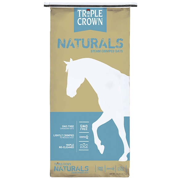 TRIPLE CROWN NATURALS STEAM CRIMP OATS 50 LB