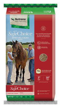 Nutrena SafeChoice Special Care Horse Feed, 50 lbs