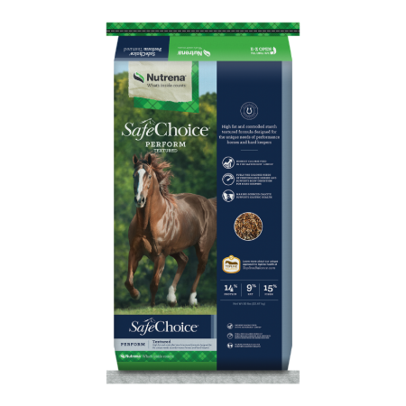 Nutrena SafeChoice Perform Horse Feed 50lb