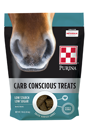 Purina Carb Conscious Horse Treats 5lb