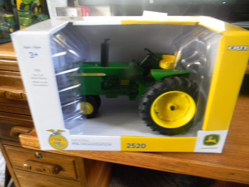 John Deere 1/16 420 with FFA Logo