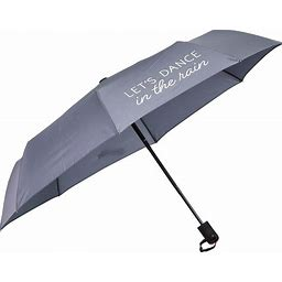 EVRGRN AUTO OPEN & CLOSE COMPACT UMBRELLA WITH REFL