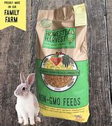 Homestead Harvest Non-GMO Wholesome Rabbit Food 25Lb