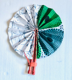 Multiprint Hand Fan
