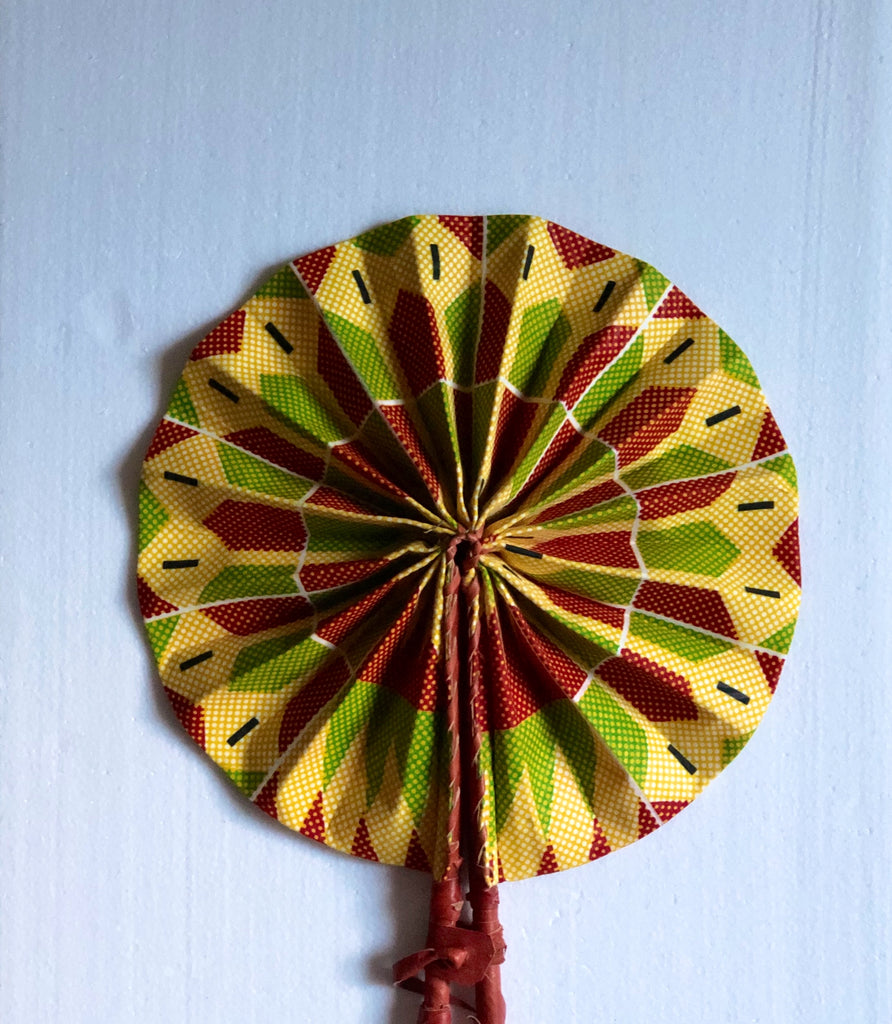 Multicolor Hand fan