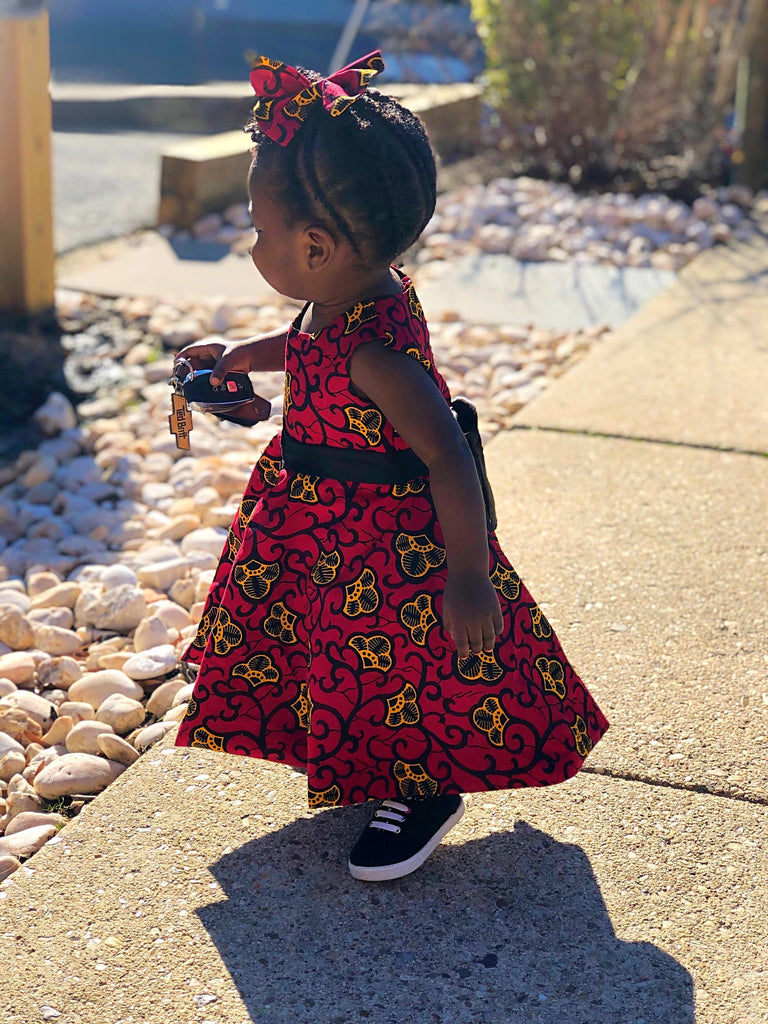Adanna Ankara baby/toddler dress,