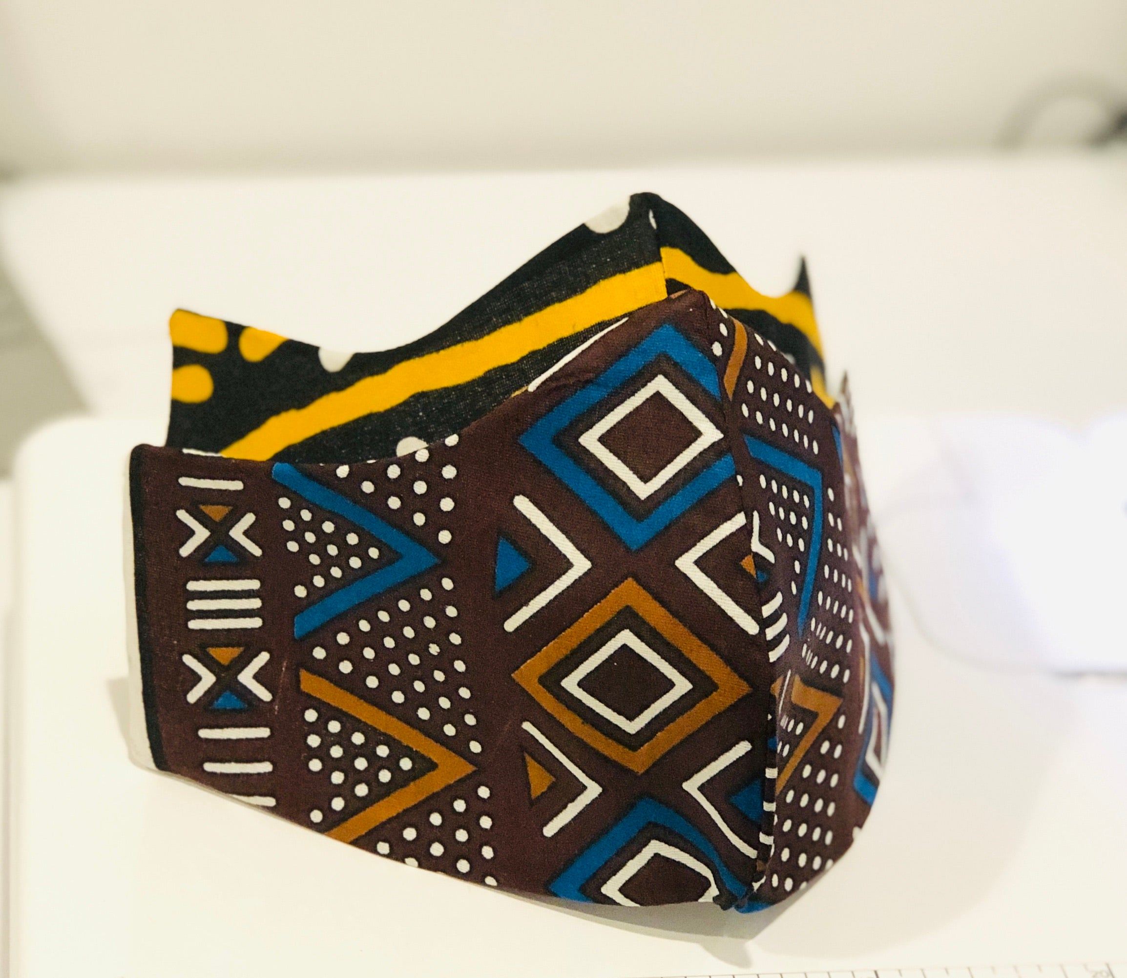 Face mask Tribal Adire (tie &dye)