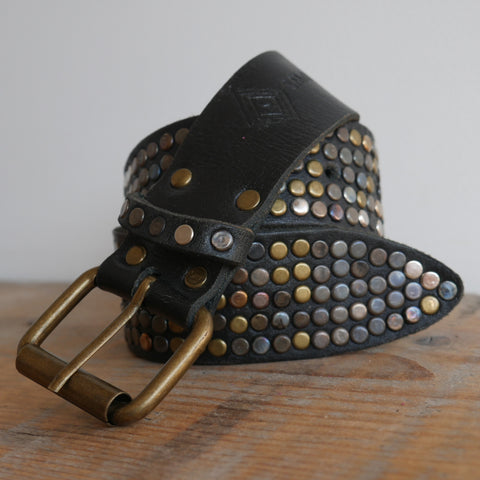 Black 5 Stud Belt