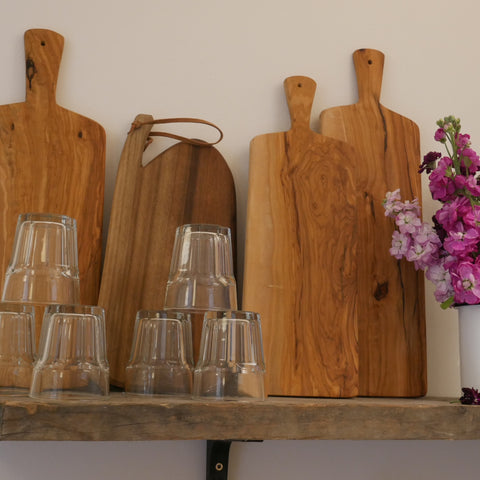 Hand Cut Wooden Sharing Platters
