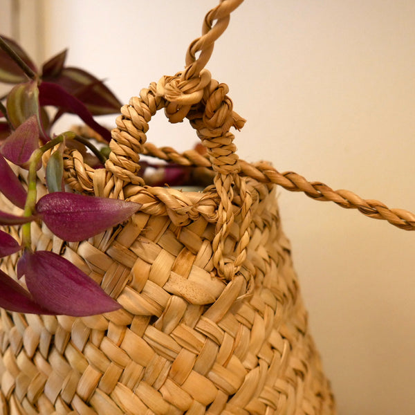 Sea Grass Hanging Basket Small