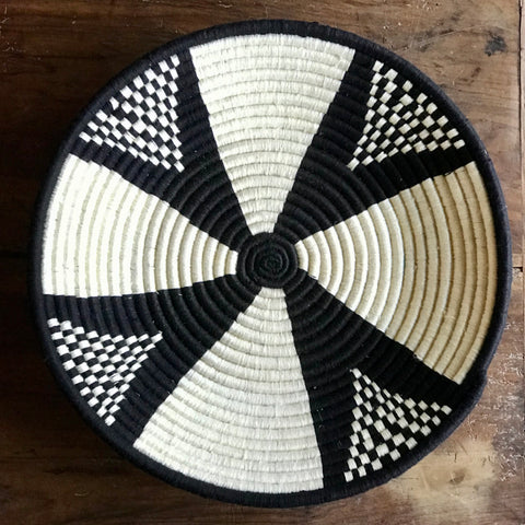 'Seed Burst' Large Woven Dish