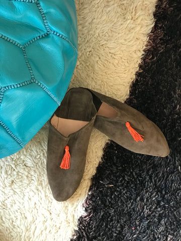 'Bliss' Suede Slippers