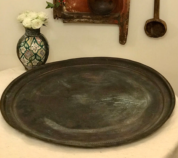 Huge Copper Tray / Table Top