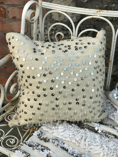 'Dancing Lights' Wedding Blanket Cushion
