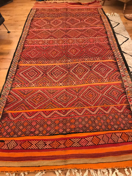 'Orange Grove' Large Kilim