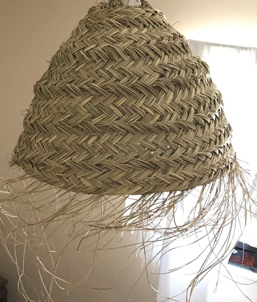 'The Beehive' wicker lampshade